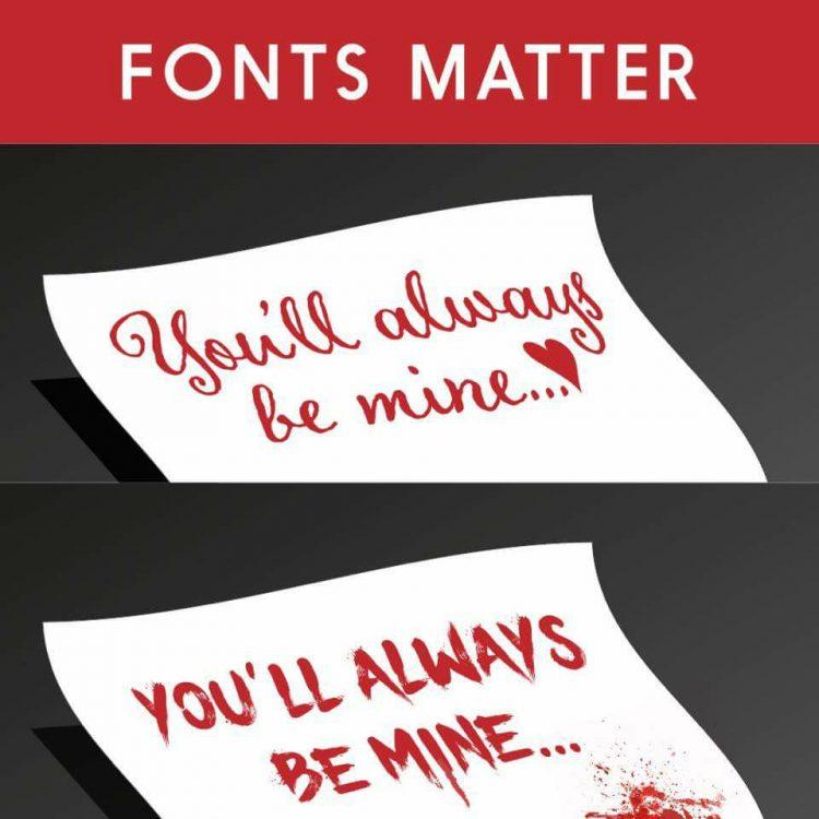 Font Matters a lot