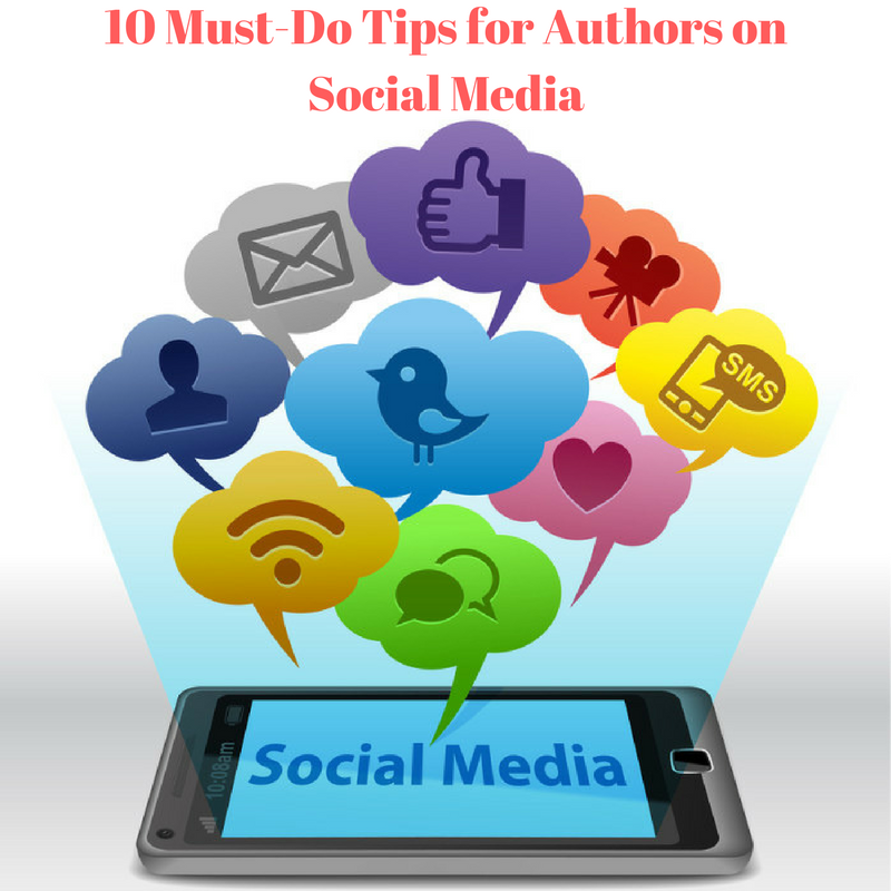 Author Social Media Tips